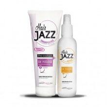 HAIR JAZZ Lotion  og Shampoo – Håret vokser opptil 3 ganger raskere!