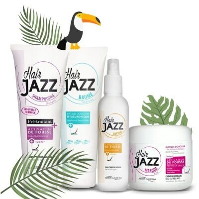 HAIR JAZZ Sjampo, Lotion, Maske og Balsam