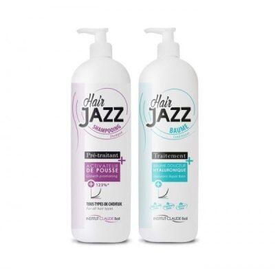 HAIR JAZZ Pro balsam og shampoo – raskere hårvekst 1000ml